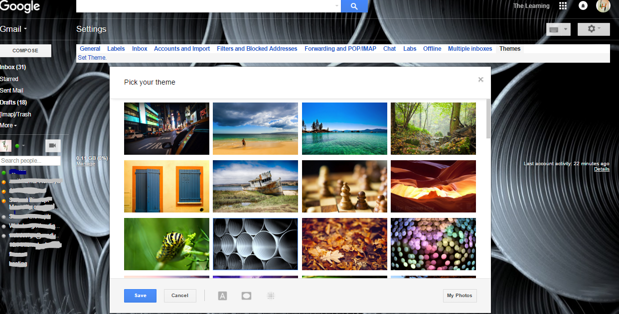 Gmail Themes: Make your gmail interface attractive - The