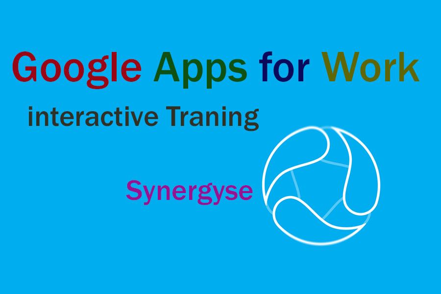 Google apps synergyse Google apps trainings