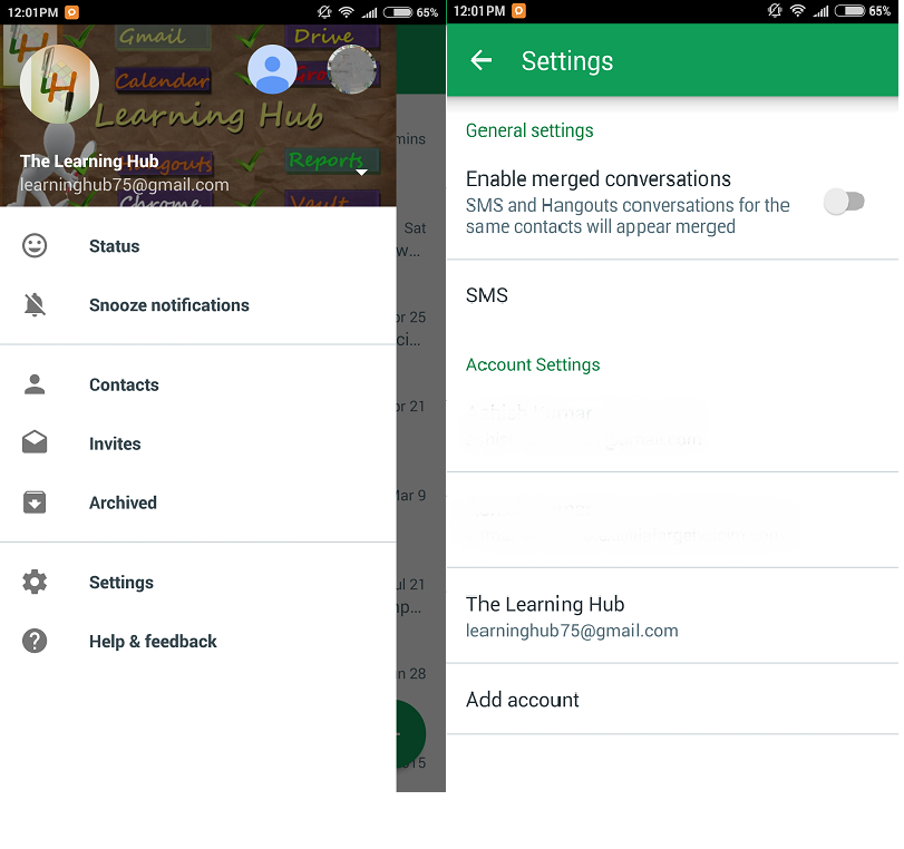 How to change google profile picture on android