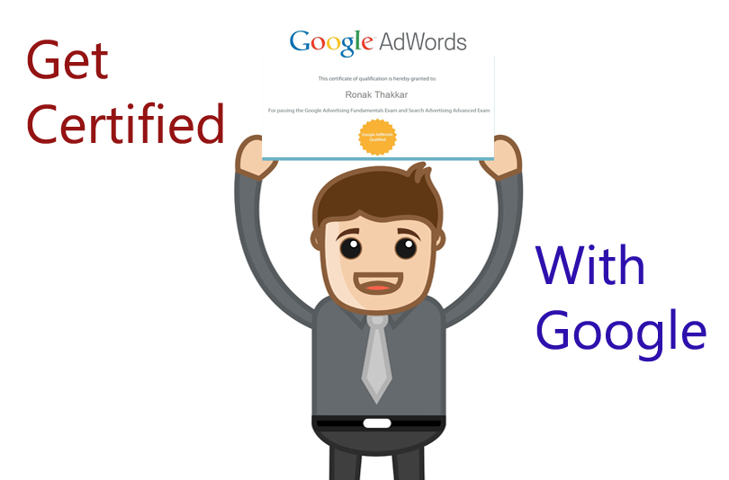 get certified with google AdWords Certification