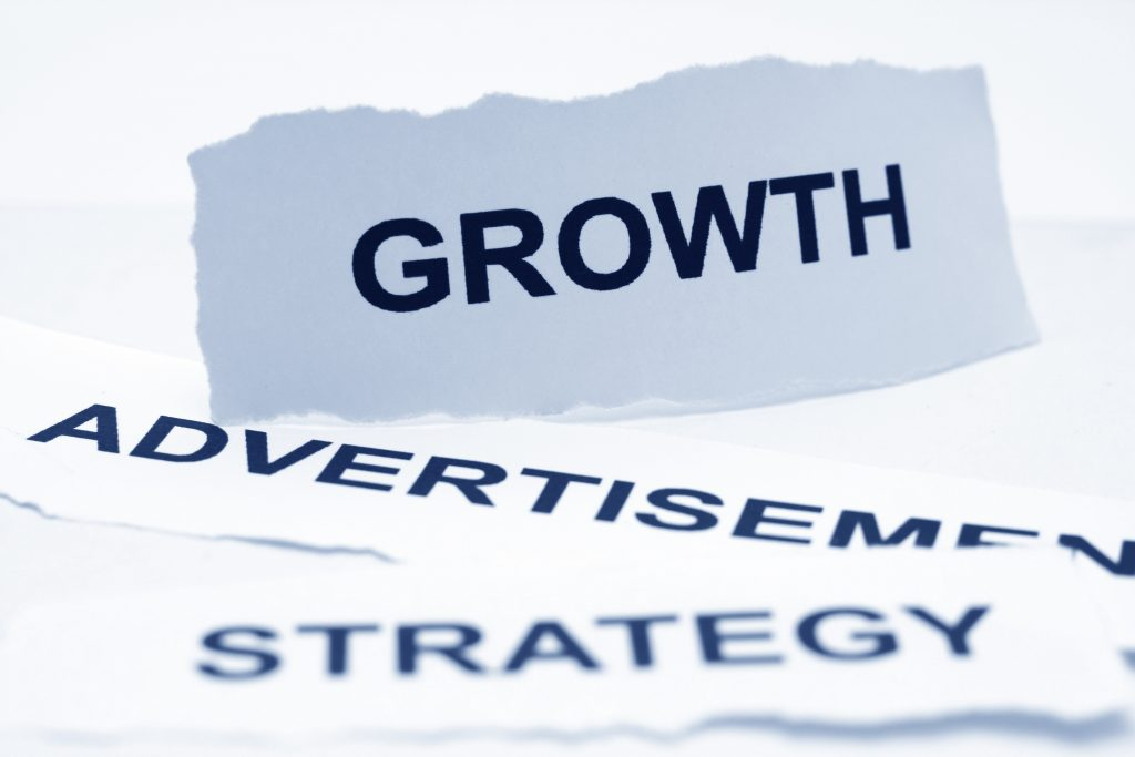 Growth advertisement strategy