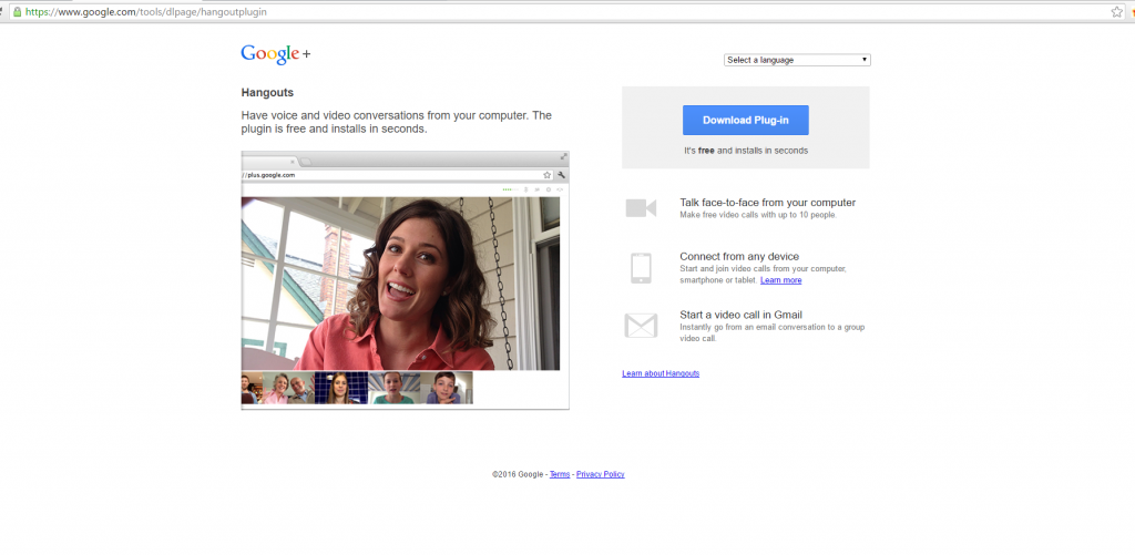 How to start a video call with Google hangouts - The Learning Hub