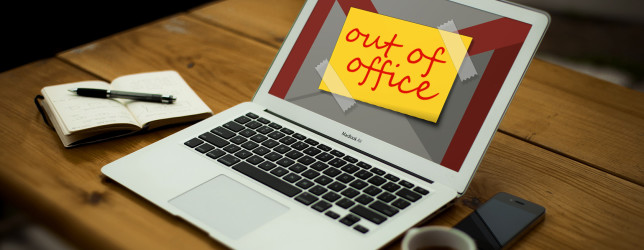 Set up your gmail out of office message before going to vacation ...