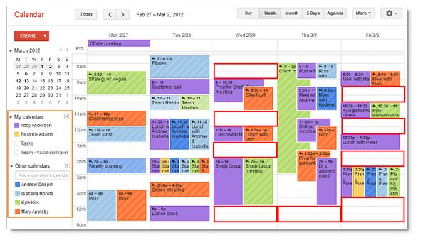 google calendar a service from google to balance your work and