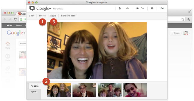 Google hangouts conference