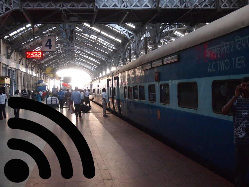 Google Railway wi-fi india